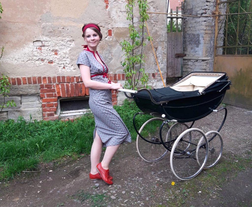 Nostalgie Kinderwagen Marmet England 60er Jahre